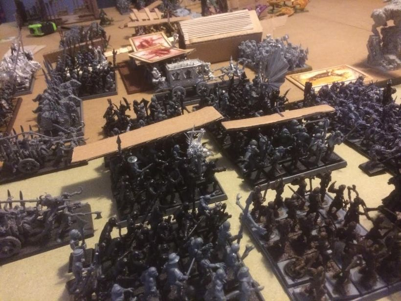 The hordes lurch forwards