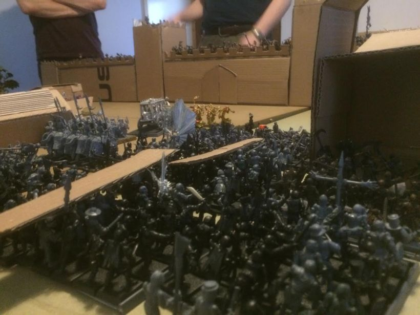 With Nagash's unholy help, the legions stumble forward twice in one turn